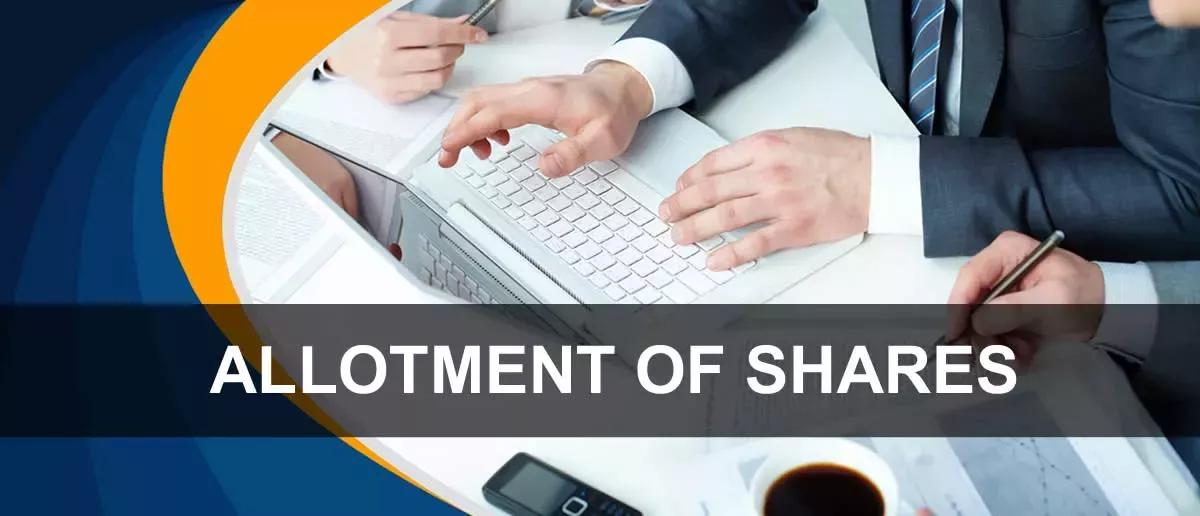 Allotment Of Shares The Process Legistify